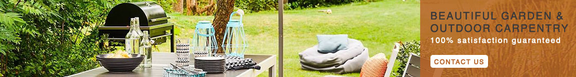 Beautiful Garden and Outdoor Carpentry